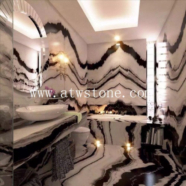 Panda White Marble Project