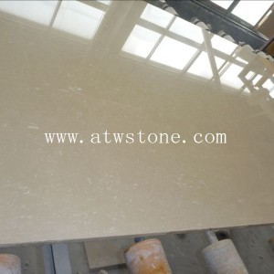 Royal Botticino Artificial Marble Slabs ATWSTONE - Fake marble slab