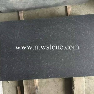 G684 Black Granite Honed