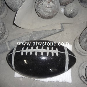 Granite Football Statue Carving Atwstone