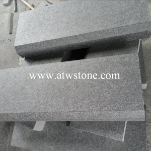 G684 Black Granite Kerbstone
