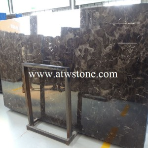 China Dark Emperador Marble Slabs